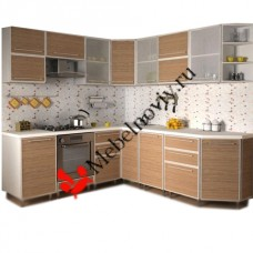 "Кухня алюминиевая рамка ""Ария"""