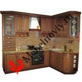 """Кухня из массива дерева """"Анна"""""""