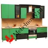 Кухня МДФ Зеленая