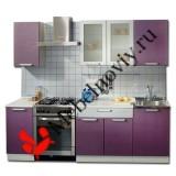"Кухня пластик ""Фиолет"""